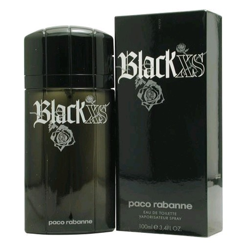 Black XS by Paco Rabanne, 3.4 oz Eau De Toilette Spray for Men