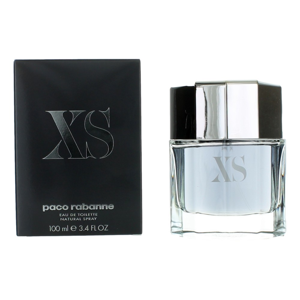 Paco Rabanne XS by Paco Rabanne, 3.4 oz EDT Spray for Men