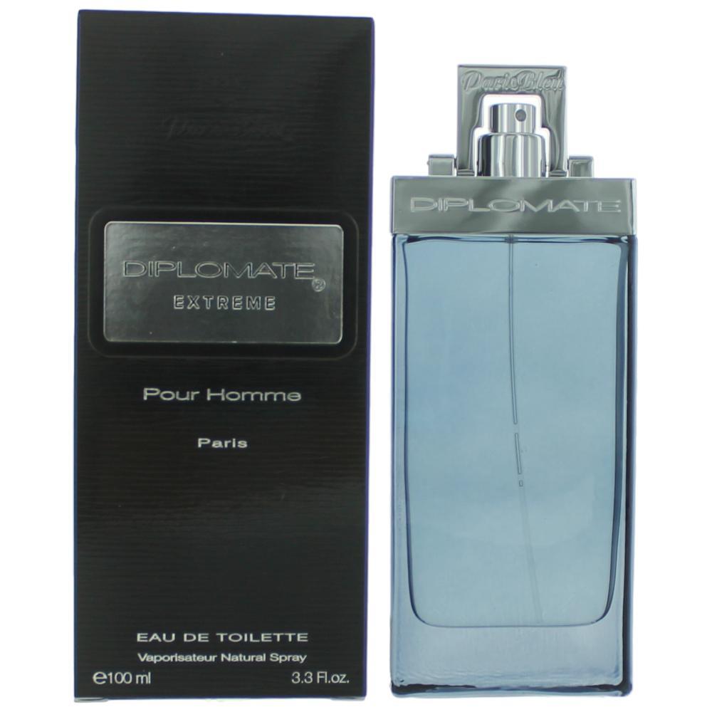 Diplomat Extreme By Paris Bleu Parfums, 3.3 oz Eau De Toilette Spray for Men