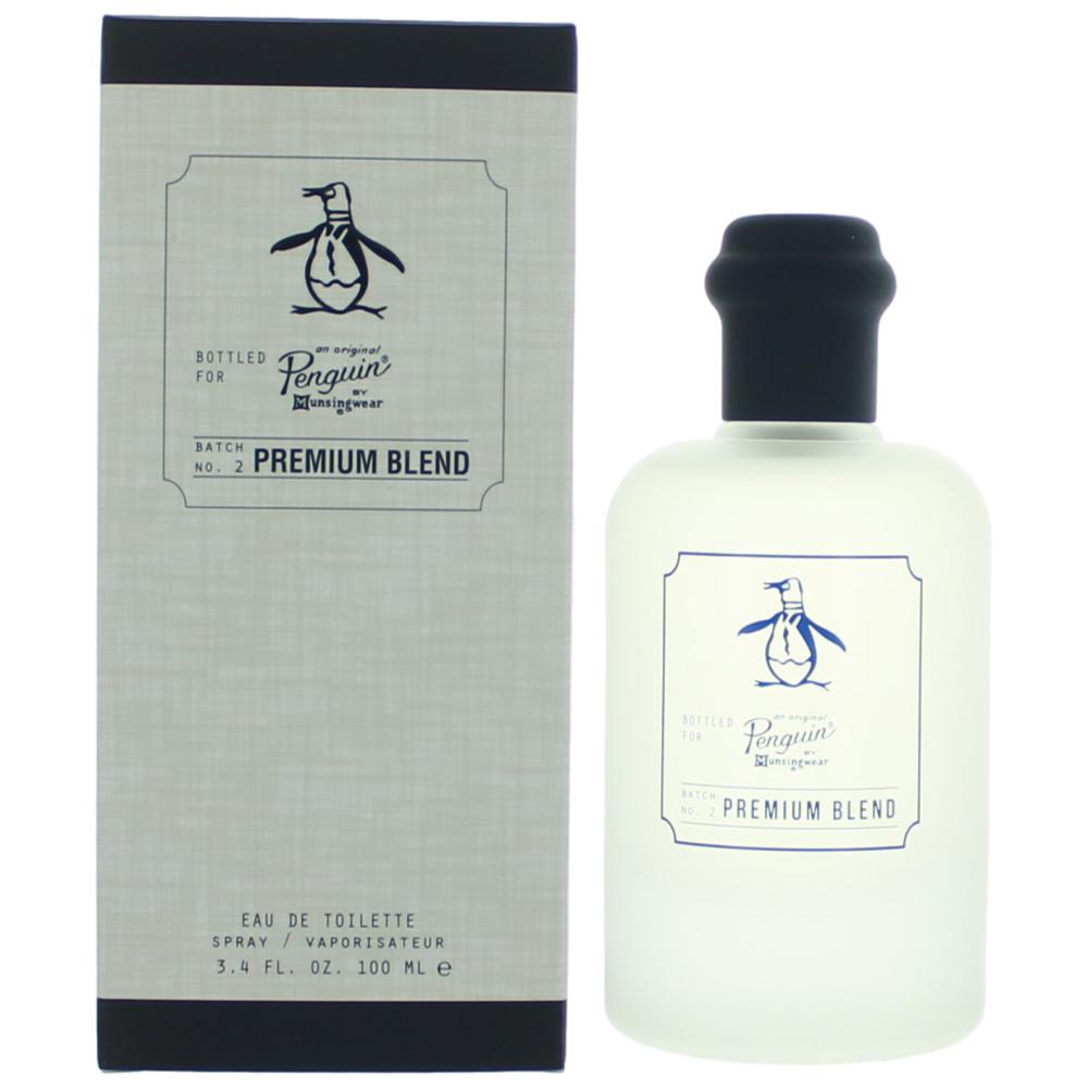 Original Penguin Premium Blend by Munsingwear, 3.4 oz Eau De Toilette Spray for Men