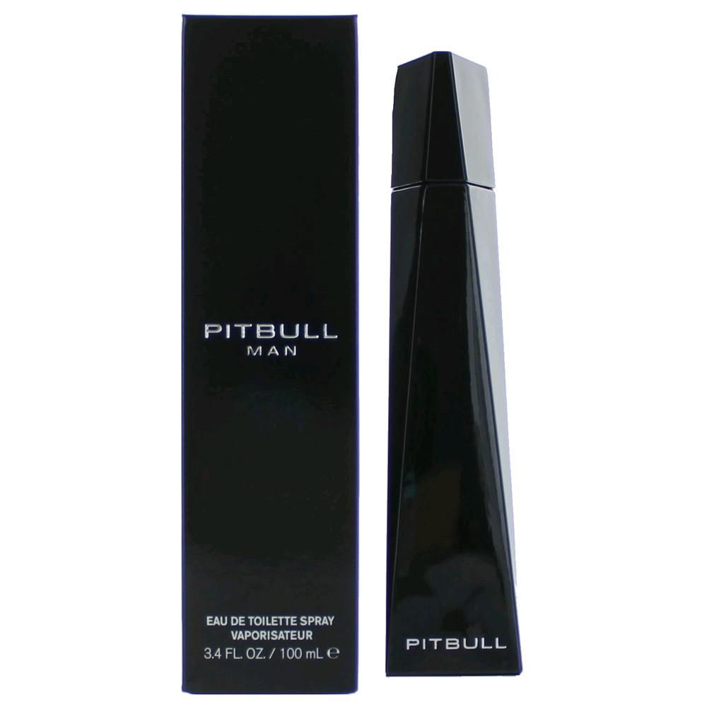 Pitbull Man by Pitbull, 3.4 oz Eau De Toilette Spray for Men