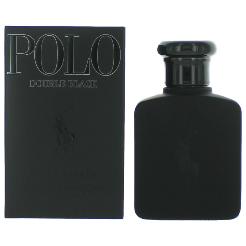 Image of Polo Double Black by Ralph Lauren, 2.5 oz Eau De Toilette Spray for Men