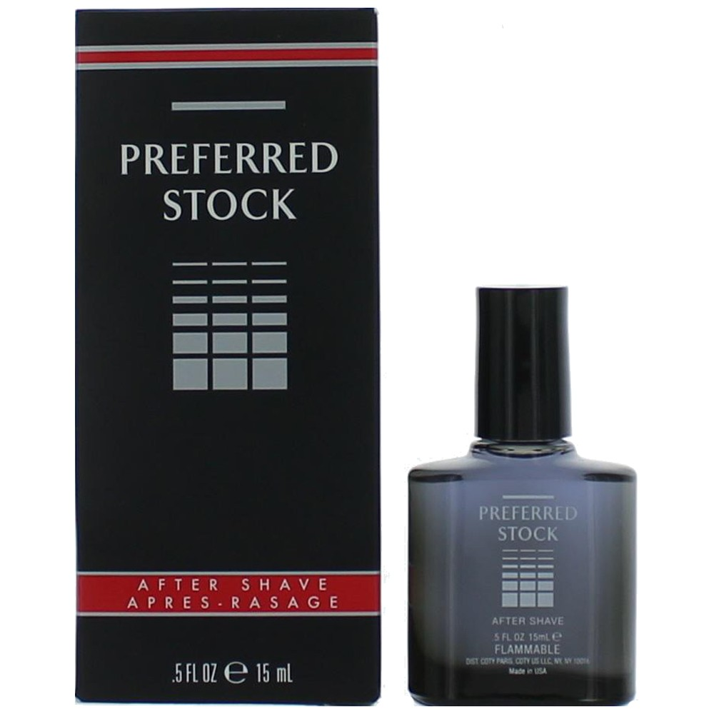 Preferred Stock by Coty, 0.5 oz After Shave for Men