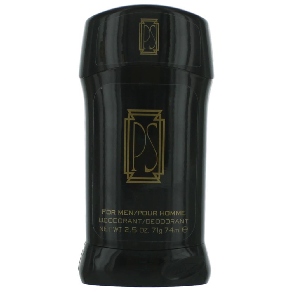PS by Paul Sebastian, 2.5 oz Fine Deodorant Stick for Men Flat Cologne