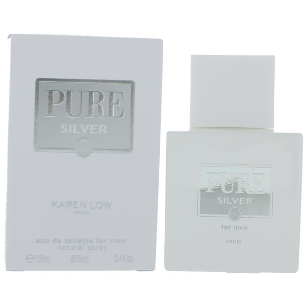 Pure Silver by Karen Low, 3.4 oz