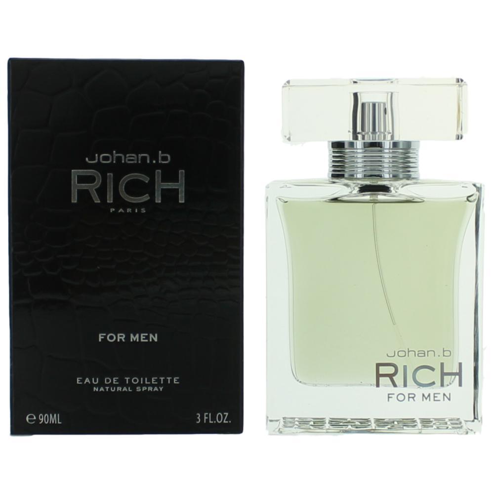 Rich by Johan.b, 3 oz Eau De Toilette Spray for Men