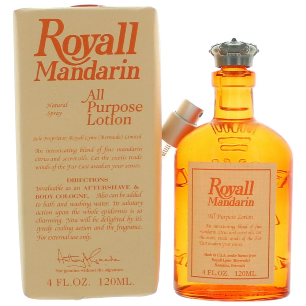 Royall Mandarin by Royall Fragrances, 4 oz All Purpose Lotio