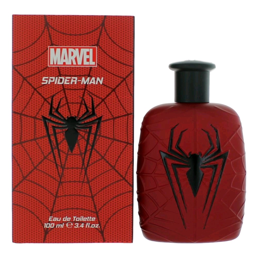 Spiderman by Marvel, 3.4 oz Eau De Toilette Spray for Men amspdmm34s