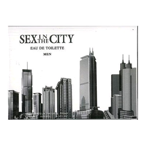 Sex In The City Code by Sex In The City, 3.3 oz Eau De Toilette Spray for men
