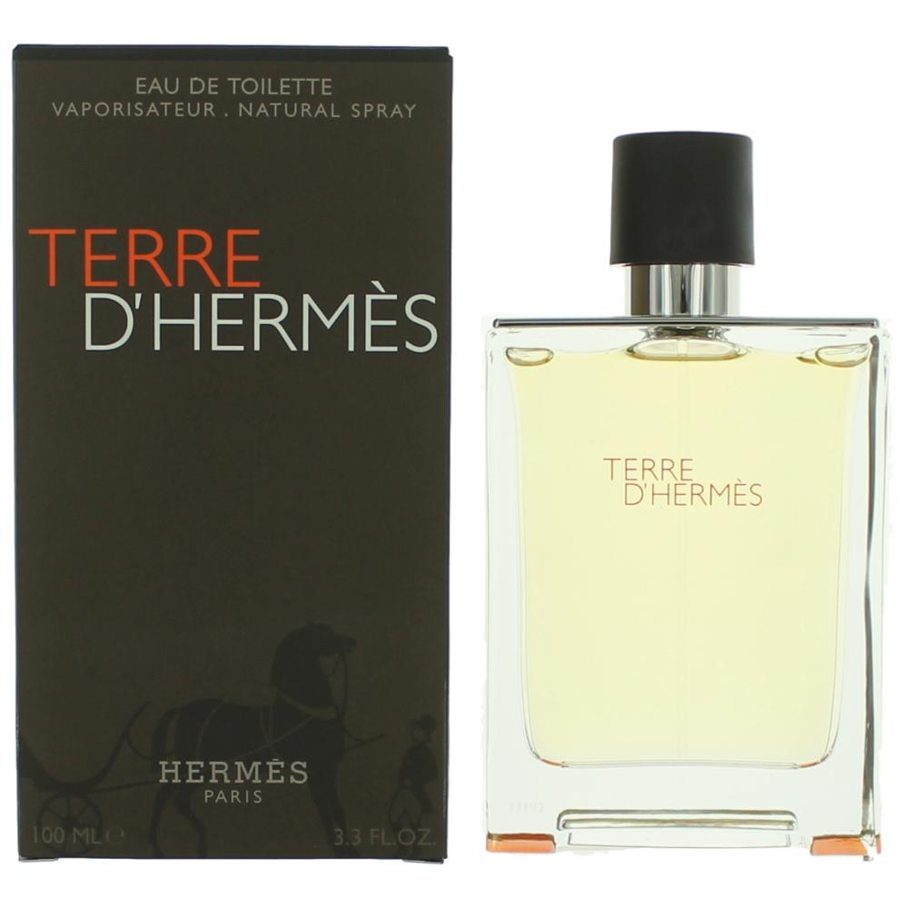 fbfada588206 Terre D Hermes by Hermes, 3.3 oz Eau De Toilette Spray for Men