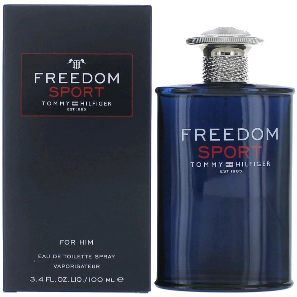 Freedom Sport by Tommy Hilfiger, 3.4 oz Eau De Toilette Spray for Men