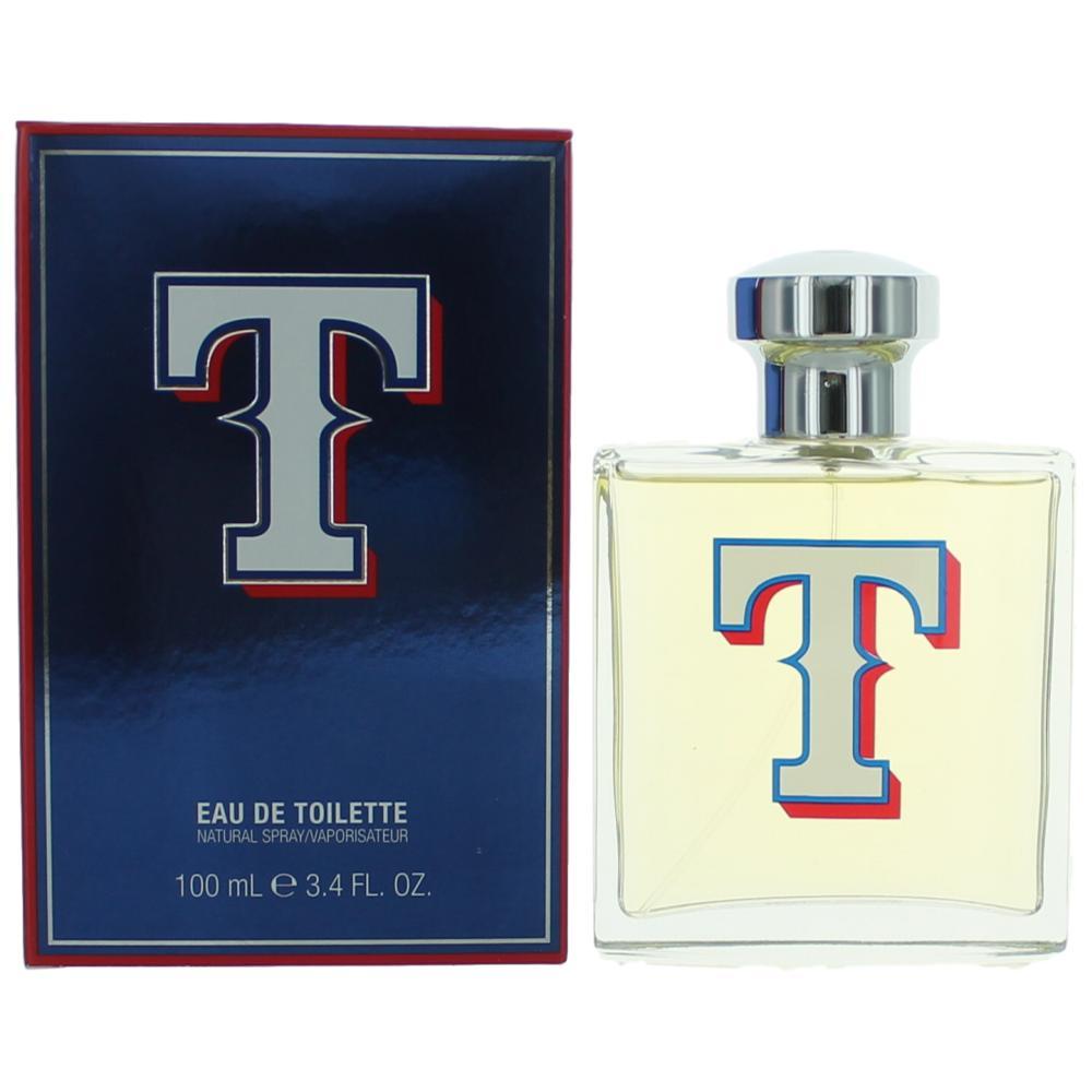 Texas Rangers by Texas Rangers, 3.4 oz Eau De Toilette Spray for Men