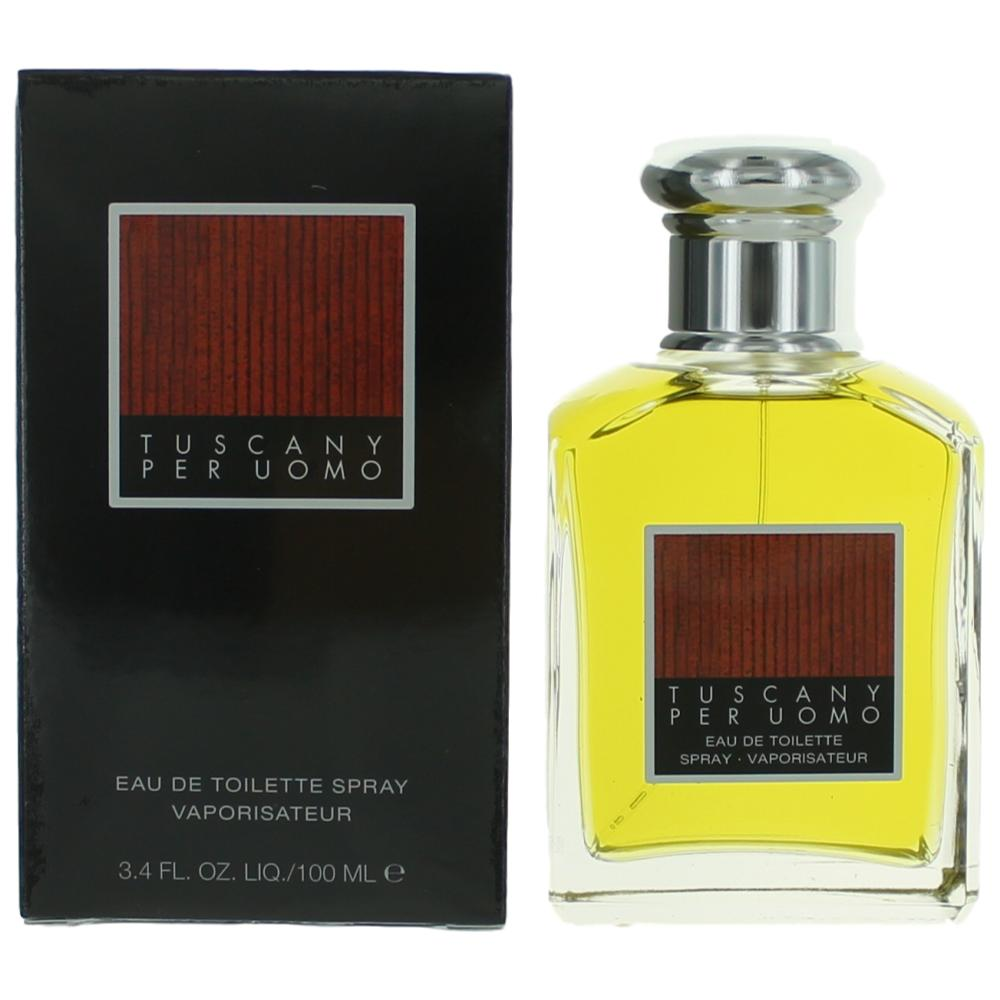 Tuscany Per Uomo by Aramis, 3.4 oz EDT Spray for Men