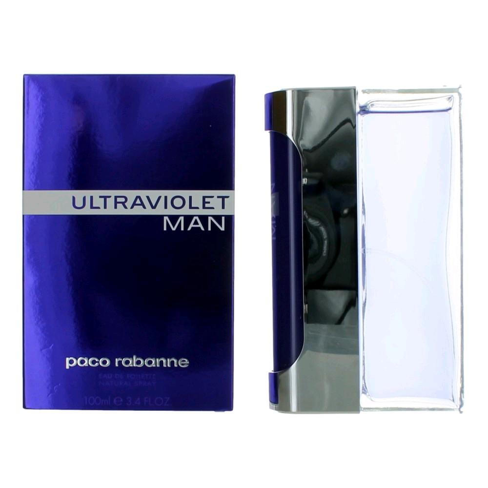 Ultraviolet Man by Paco Rabanne, 3.4 oz Eau De Toilette Spray for Men