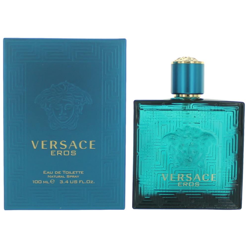 Eros by Versace, 3.4 oz EDT Spray for Men
