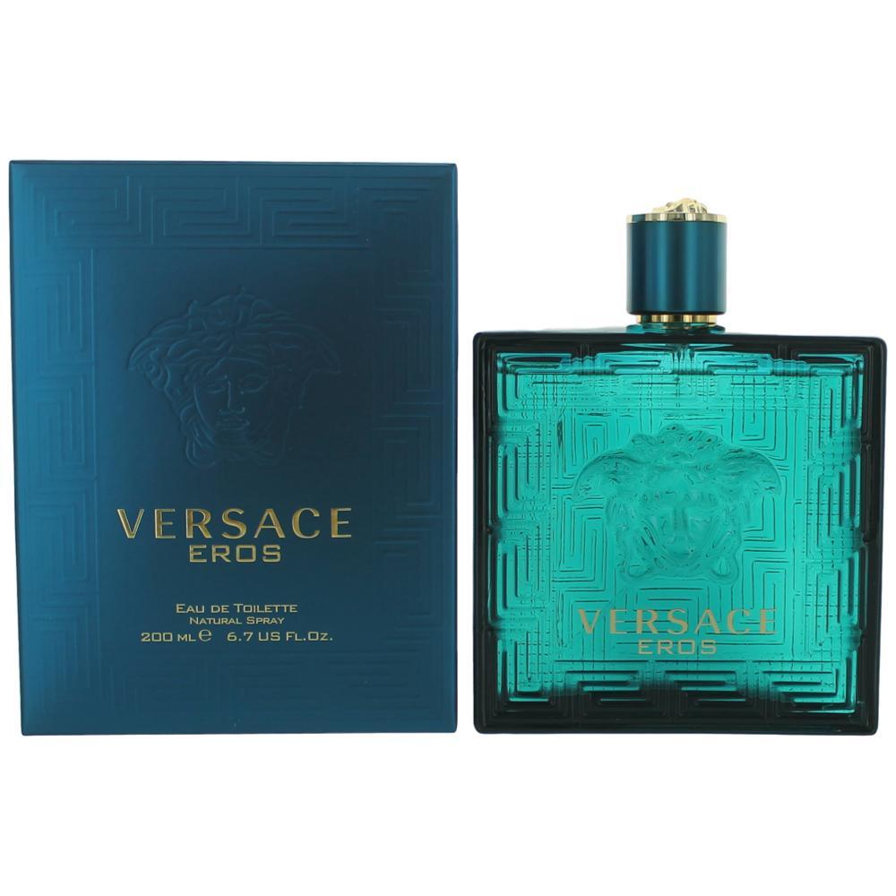 Eros by Versace, 6.7 oz EDT Spray for Men
