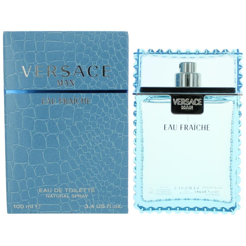 Versace Man Eau Fraiche by Versace, 3.4 oz Eau De Toilette Spray for Men 00b71de2795