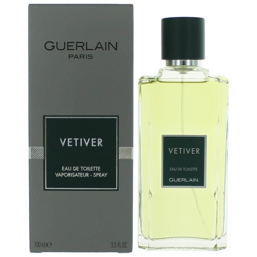 Vetiver by Guerlain, 3.3 oz EDT Spray for Men
