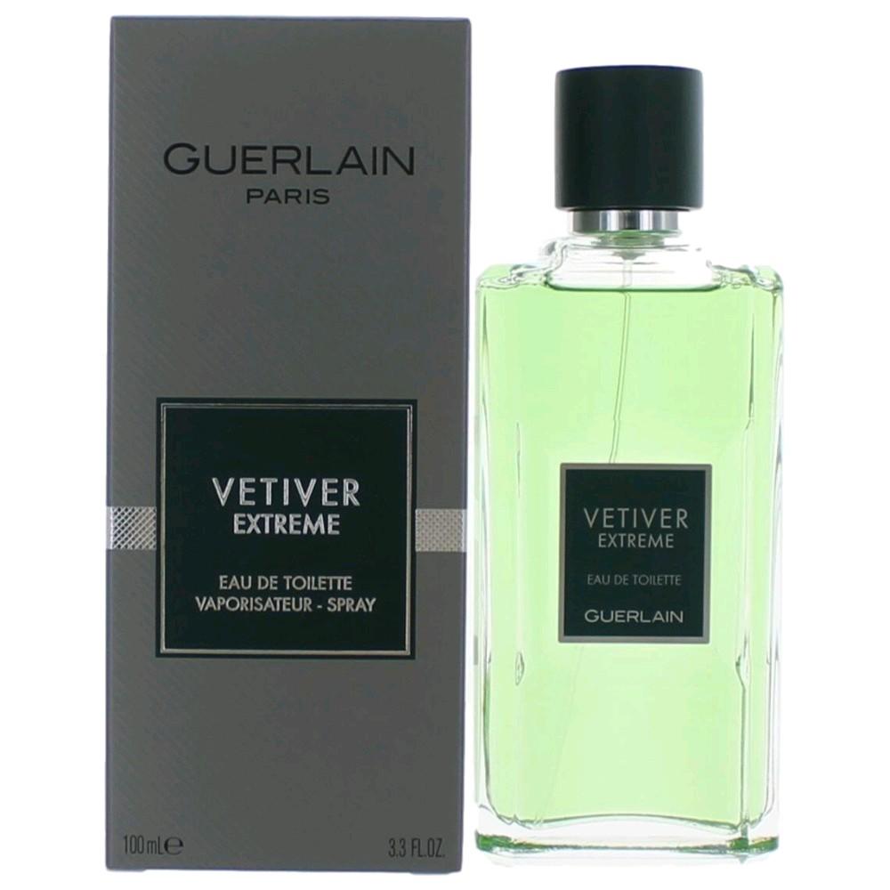 Vetiver Extreme by Guerlain, 3.4 oz EDT Spray for Men
