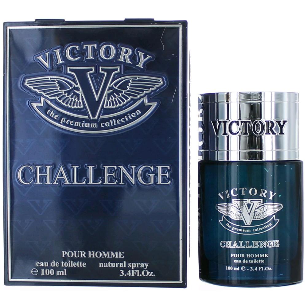 Victory Challenge by Etoile Parfums, 3.4 oz Eau De Toilette Spray for Men