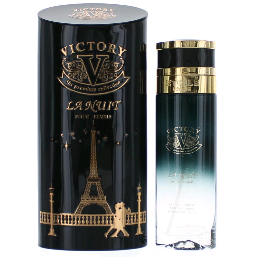 Victory La Nuit by Etoile Parfums, 3 oz Eau De Parfum Spray for Women