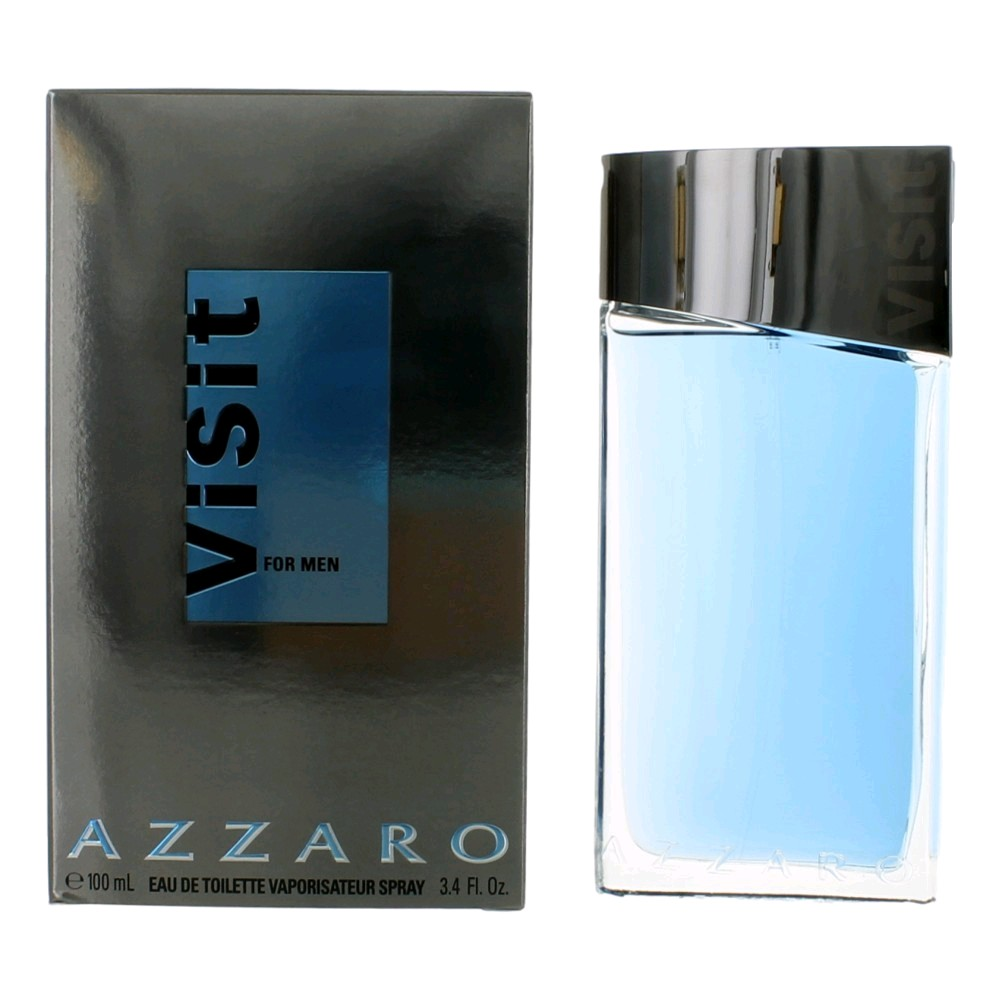 Visit by Azzaro, 3.4 oz EDT Spray for Men
