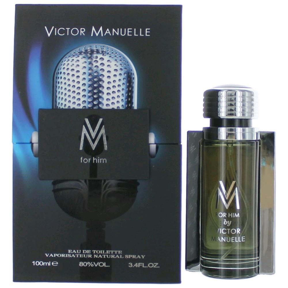 VM by Victor Manuelle, 3.4 oz Eau De Toilette Spray for Men