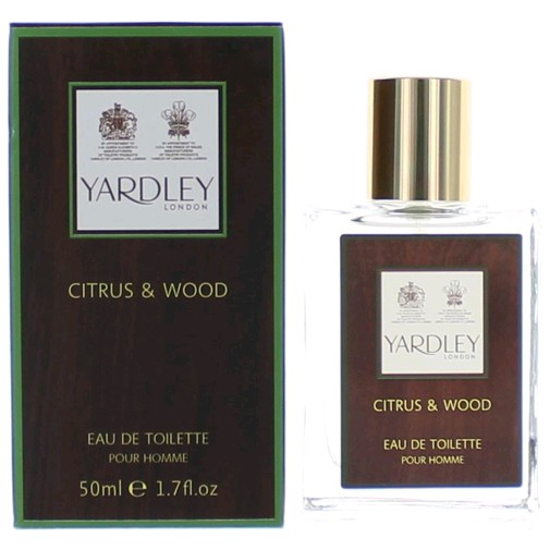 Yardley Citrus & Wood by Yardley of London, 1.7 oz Eau De Toilette Spray for Men