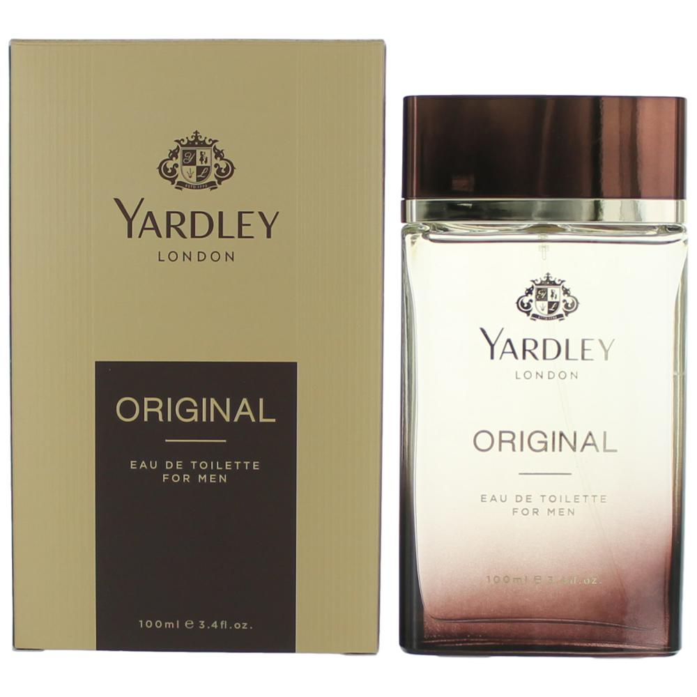 Yardley Original by Yardley of London, 3.4 oz Eau De Toilette Spray for Men