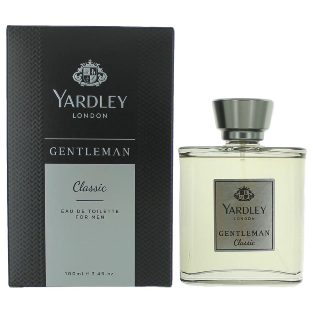 Yardley Gentlemen Classic by Yardley of London, 3.4 oz Eau De Toilette Spray for Men