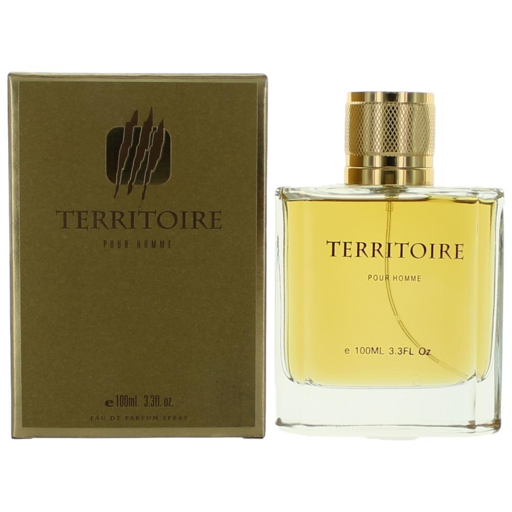 Territoire Gold by YZY, 3.4 oz Eau De Parfum Spray for Men