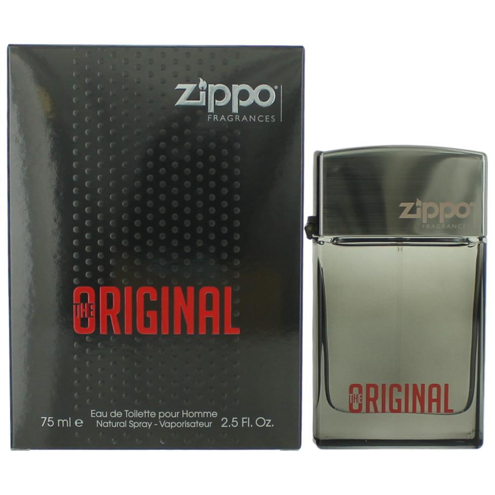 Zippo The Original by Zippo, 2.5 oz Eau De Toilette Spray for Men