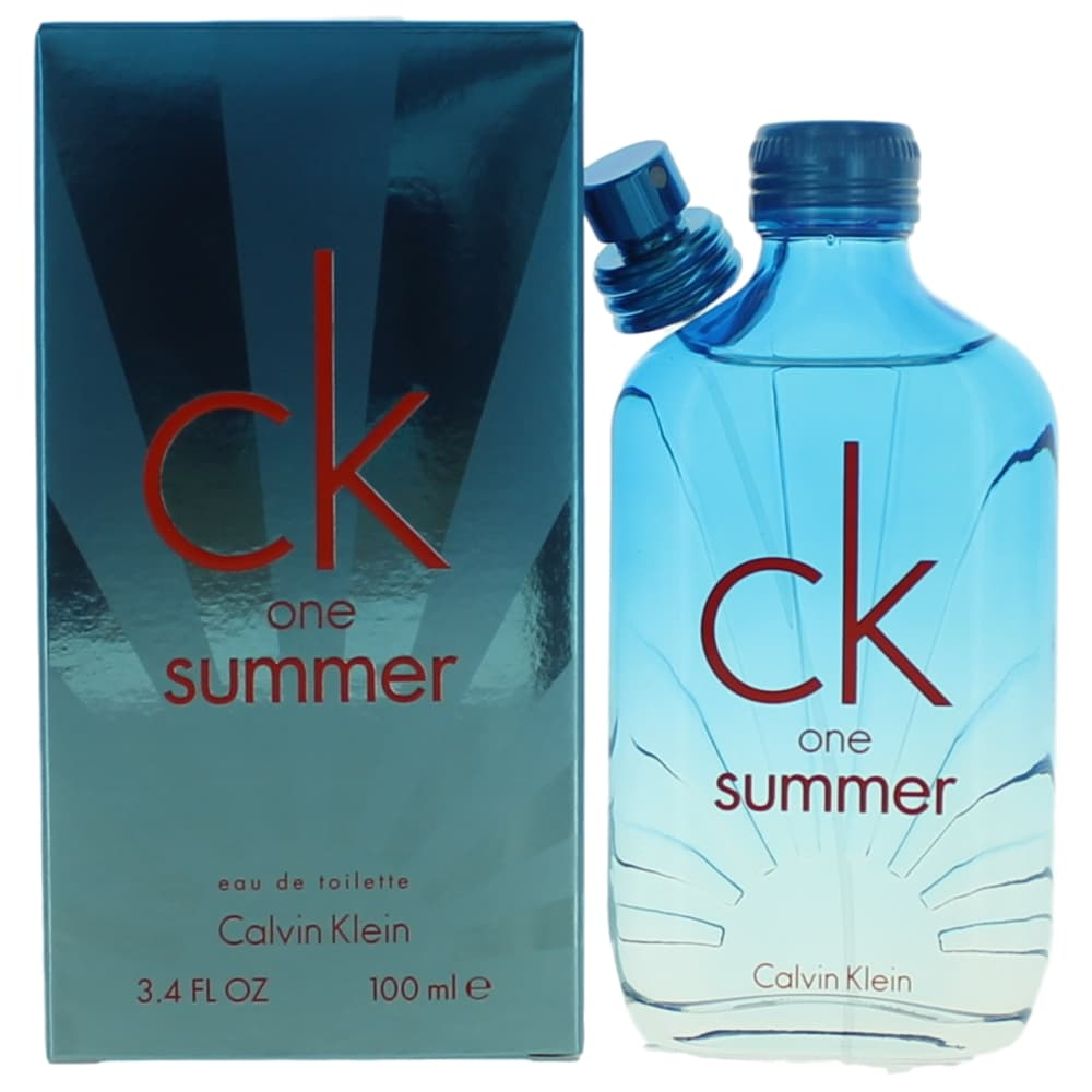 CK One Summer 2017 by Calvin Klein, 3.4 oz EDT Spray for Unisex