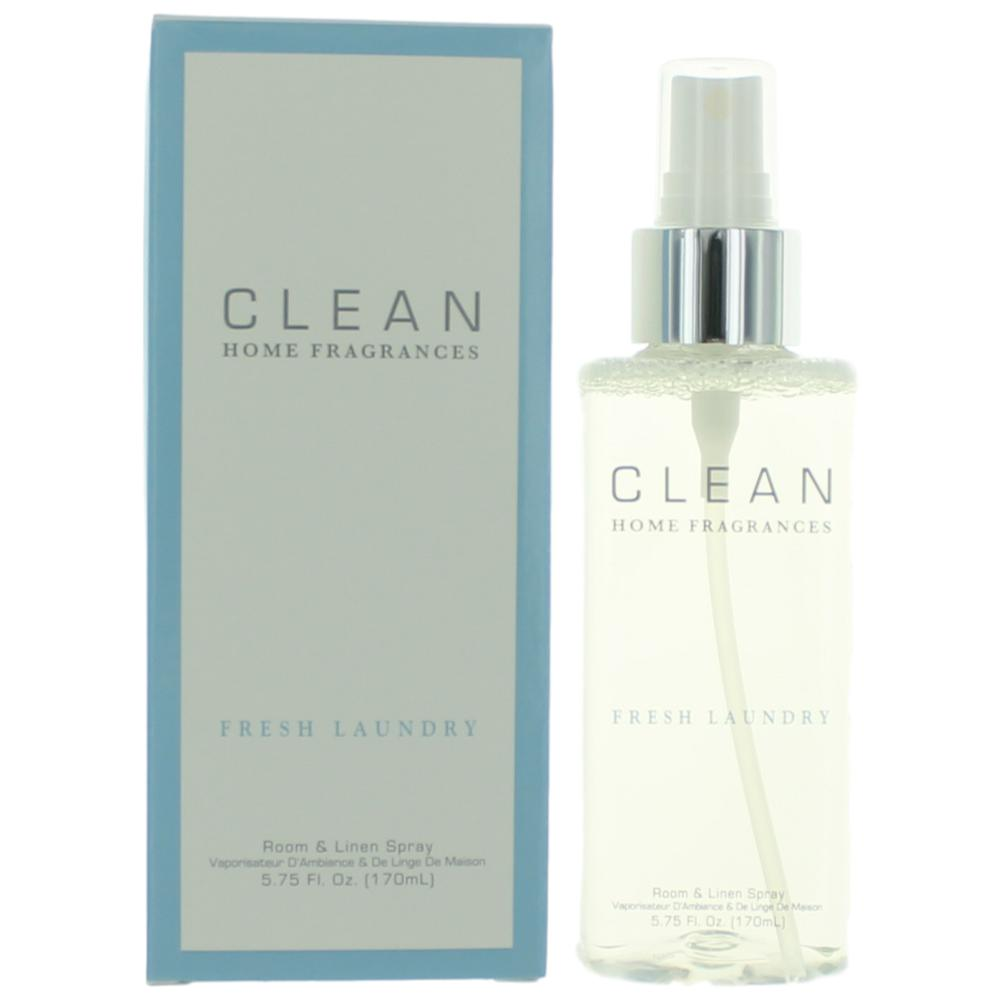 Clean Fresh Laundry by Dlish, 5.75 oz Room & Linen Spray for Unisex