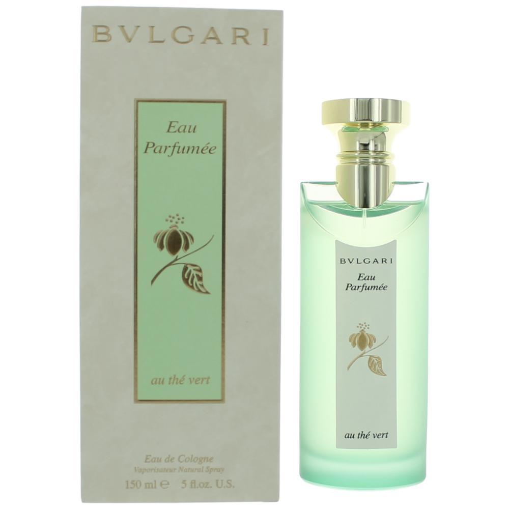 Eau Parfumee Au the Vert (Green Tea) by Bvlgari,  5 oz Eau De Cologne Spray, UNISEX. (Bulgari)
