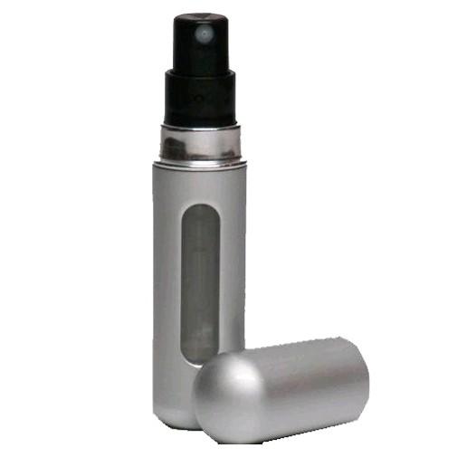FraGo by FraGo, Silver Mini Travel Refillable Spray Refills from Any Fragrance Bottle
