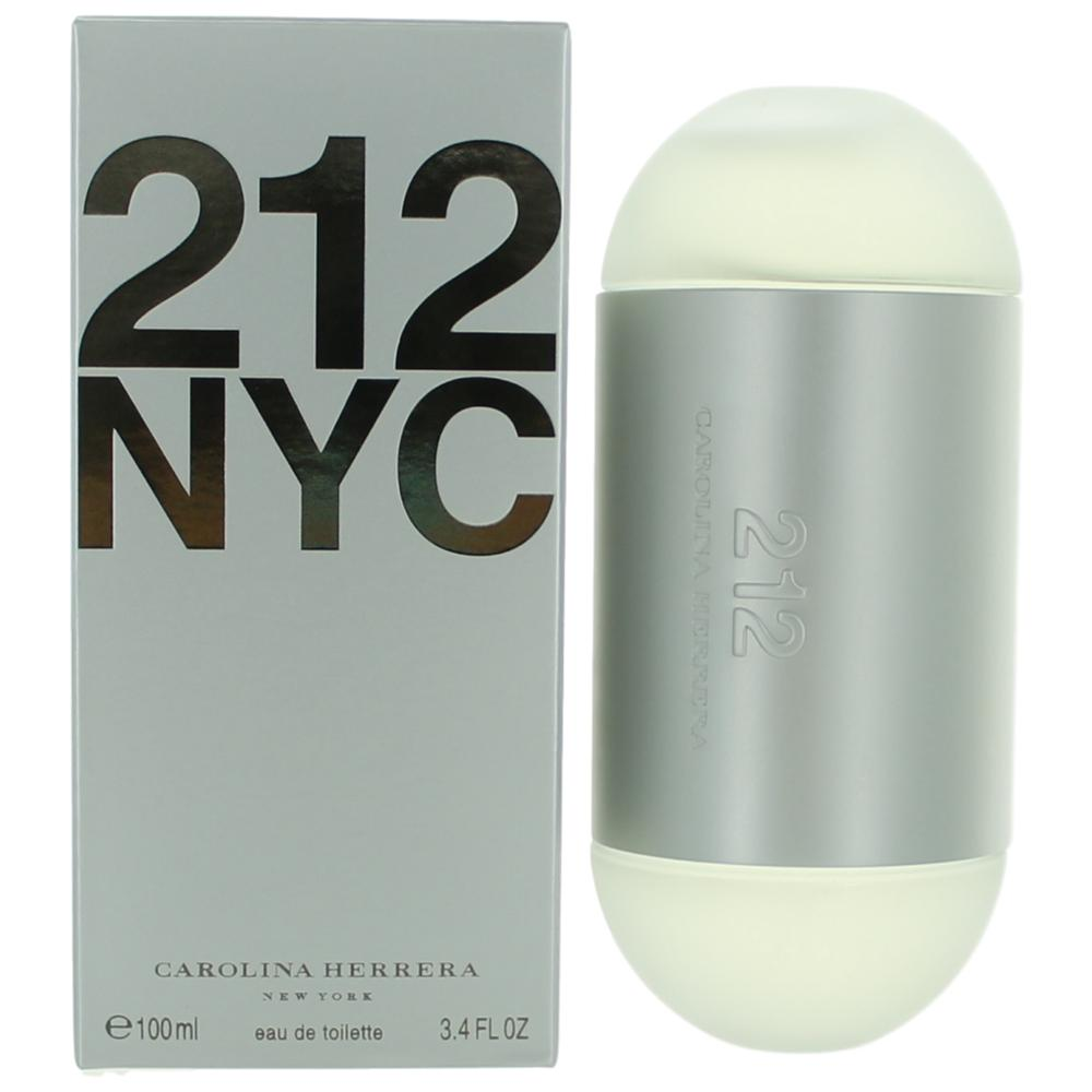 212 by Carolina Herrera, 3.4 oz EDT Spray for Women
