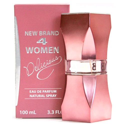 4 Women Delicious by New Brand, 3.3 oz EDP Spray for Women