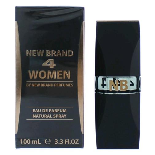 4 Women by New Brand, 3.3 oz EDP Spray for Women