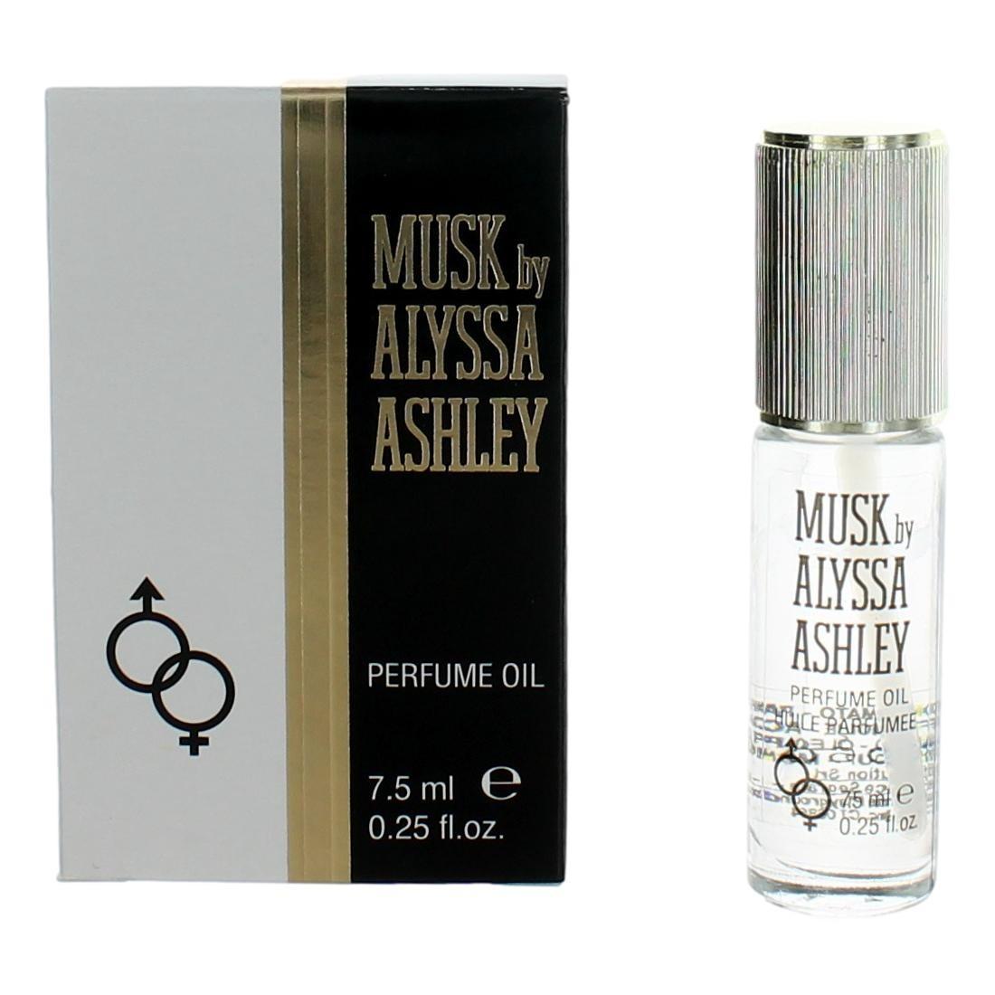 Musk by Alyssa Ashley, .25 oz Perfume Oil for Women