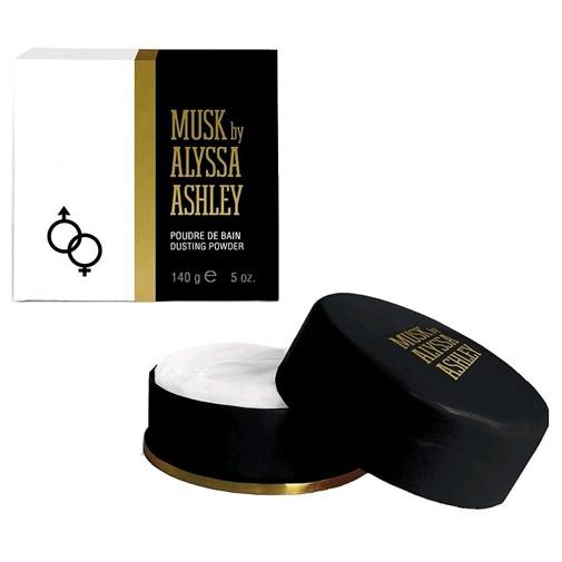 Musk by Alyssa Ashley, 5 oz Dusting Powder for Women