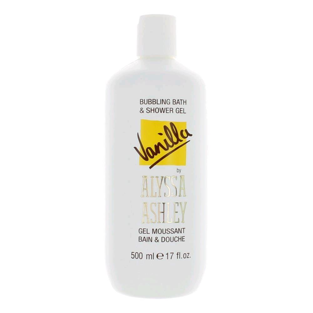 Vanilla by Alyssa Ashley, 17 oz Bubbling Bath & Shower Gel for Women
