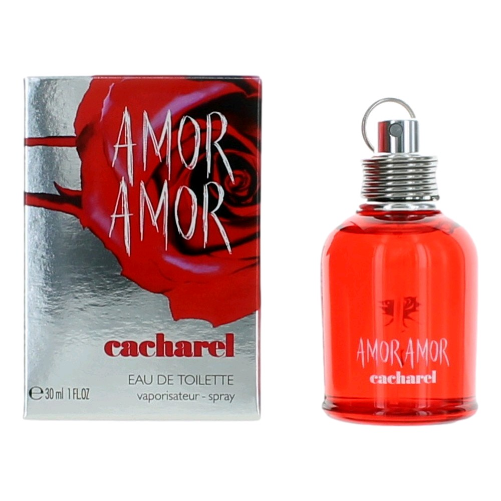Amor Amor by Cacharel, 1 oz EDT Spray for Women