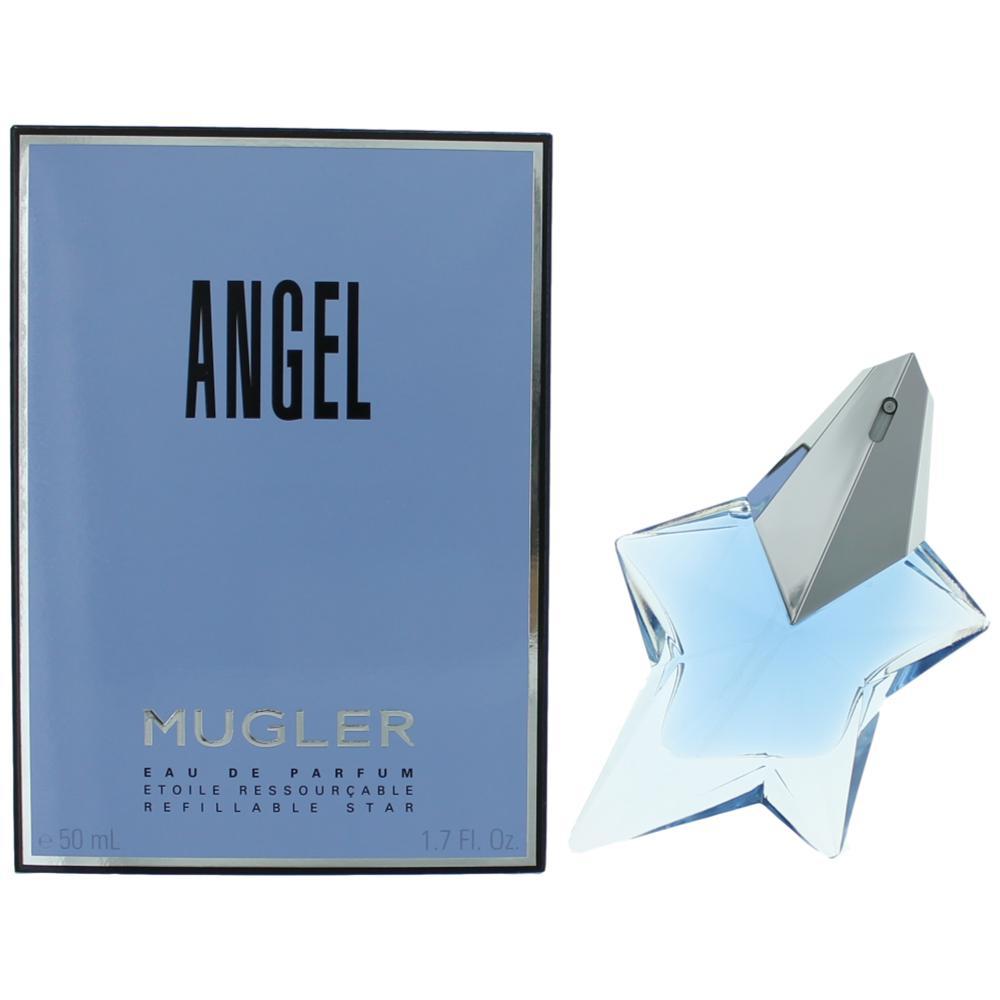 Angel by Thierry Mugler, 1.7 oz Refillable Eau De Parfum Spray for Women 0d022063fe