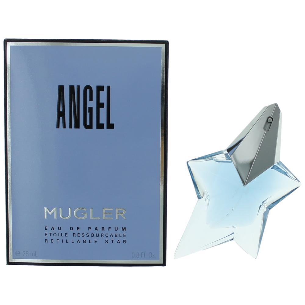 Angel by Thierry Mugler, .8 oz Eau De Parfum Spray Refillable for Women