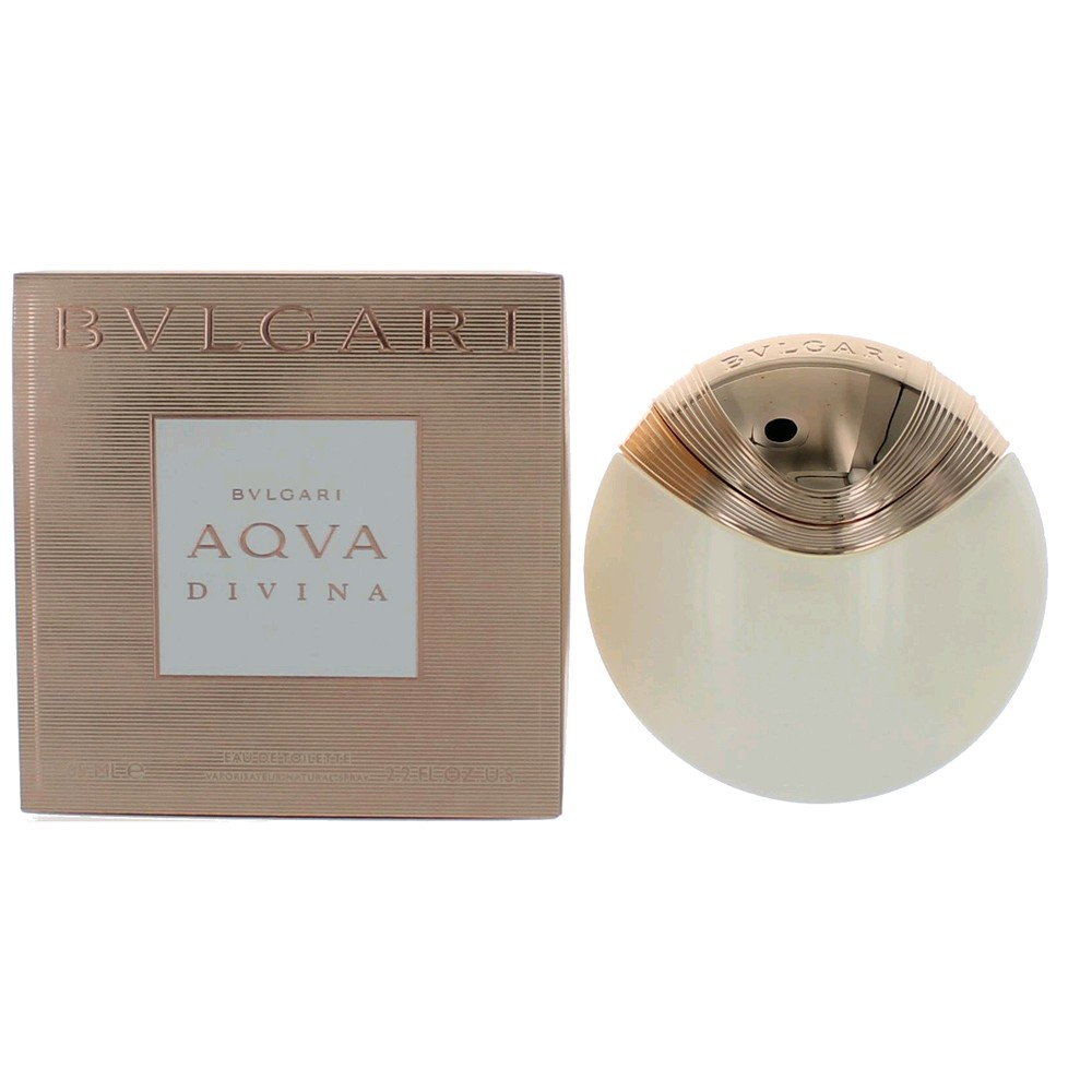 Aqva Divina by Bvlgari, 2.2 oz EDT Spray for Women