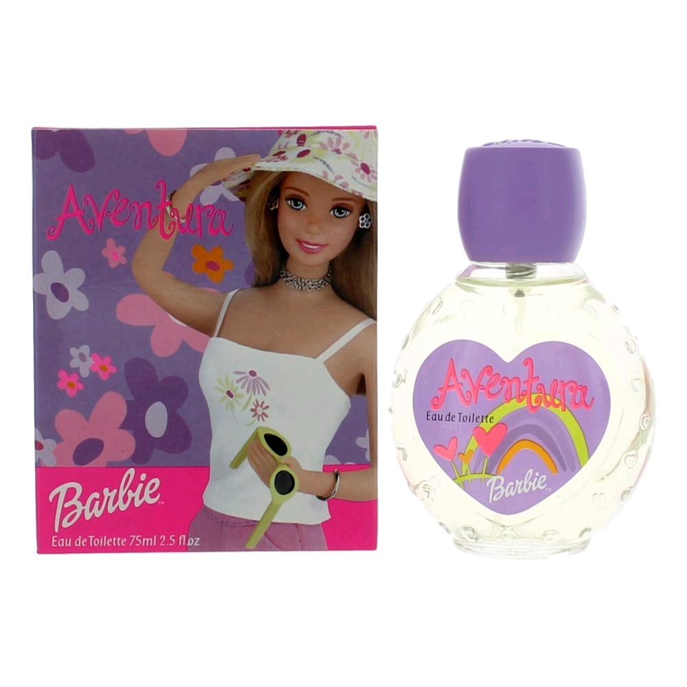 Barbie Aventura by Barbie, 2.5 oz Eau De Toilette Spray for Girls