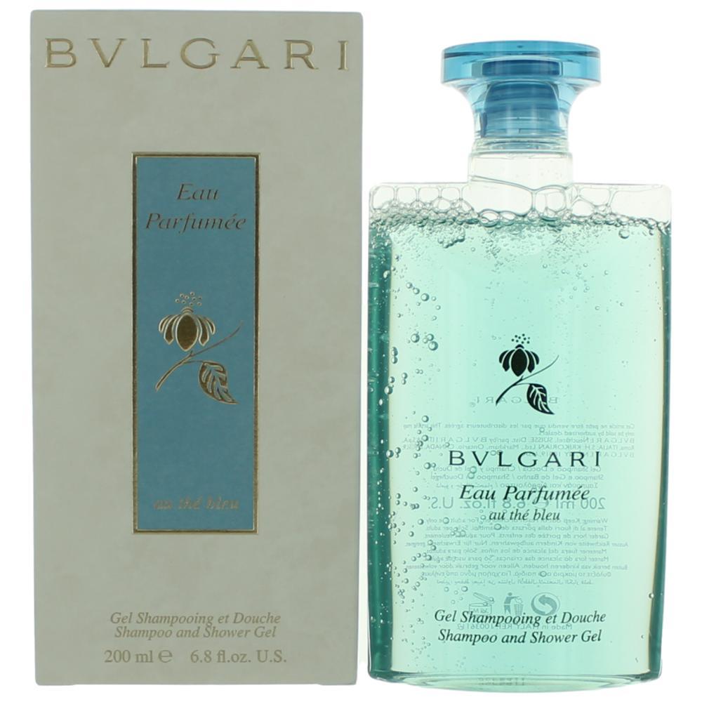 Eau Parfumee Au the Bleu by Bvlgari, 6.8 oz Shampoo & Shower Gel for Unisex