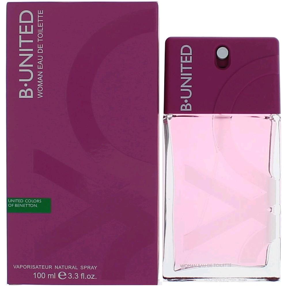 B. United by Benetton, 3.3 oz Eau De Toilette Spray for Women (B United)