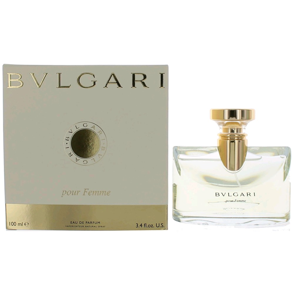 Bvlgari Pour Femme by Bvlgari, 3.4 oz EDP Spray for Women (Bulgari)